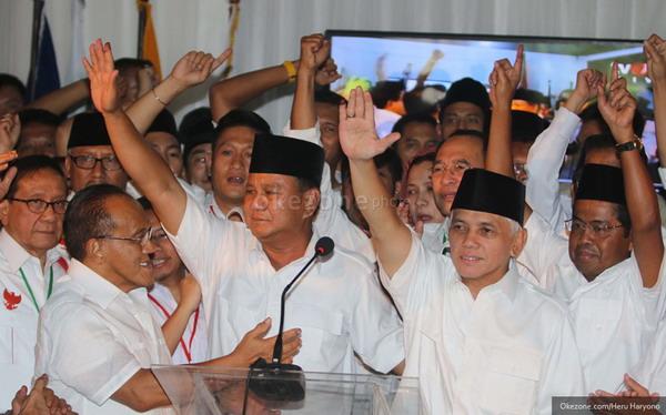 Kubu Prabowo Masih Yakin Menang