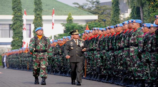 23 Ribu Prajurit TNI Siaga di Gedung KPU
