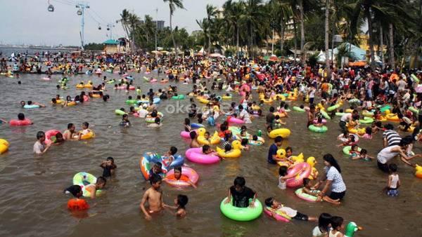 Pantai Ancol, Favorit Wisatawan saat Libur Lebaran