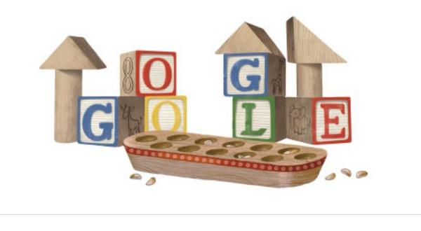 Google Doodle Rayakan Hari Anak Nasional