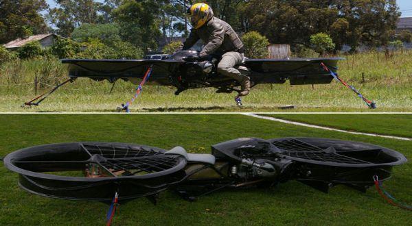 Hoverbike, Kendaraan Motor Terbang Masa Depan