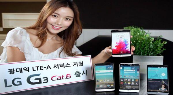 LG Tiru Ide Samsung Rilis Handset LTE-Advanced