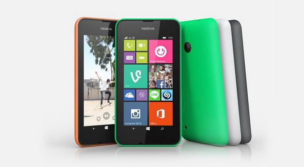 Smartphone Lumia 530 Dijual Rp1,3 Jutaan