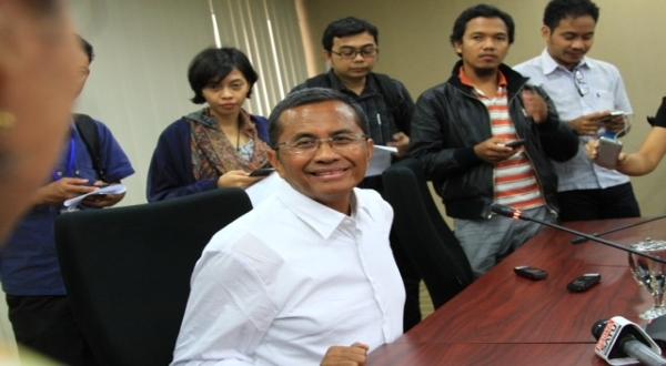Dahlan tidak akan perjelas holding BUMN energi (Foto: Okezone)