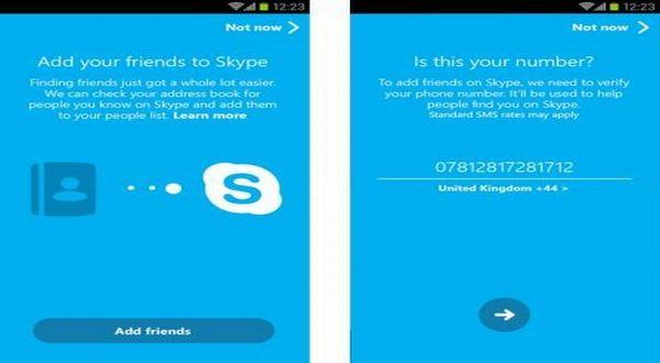 Skype Update Versi 5.0 untuk Android