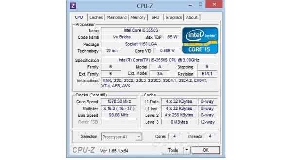 CPU Z Update Versi Terbaru 1.70