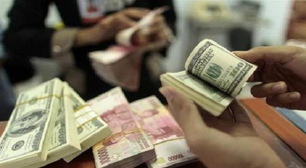 Daftar kurs Rupiah di 4 bank besar (Ilustrasi: Reuters)