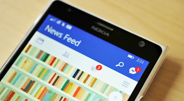 Update Facebook Beta untuk Windows Phone 8