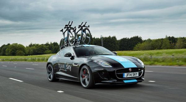 F: Jaguar F-Type R Tour de France (Leftlanenews)