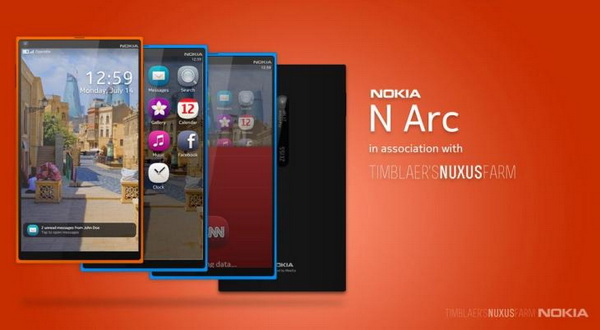 Nokia N Arc Dibekali Kamera 21MP