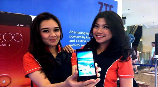 ZTE Smartphone Klaim Sukses Jualan di Indonesia