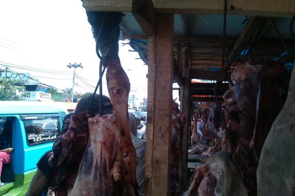 Ilustrasi Penjual Daging. (Foto: Okezone)