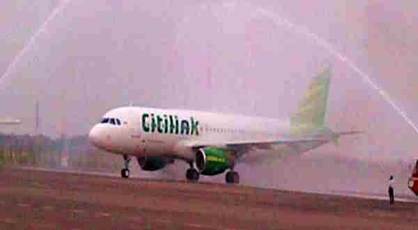 Ilustrasi pesawat citilink. (Foto: Okezone)
