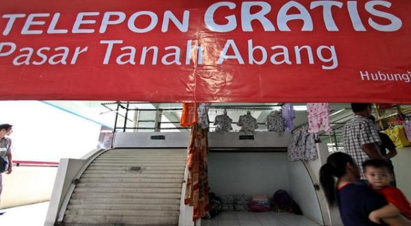 Blok A Tanah Abang akan tutup hingga 3 Agustus. (Foto: Okezone)