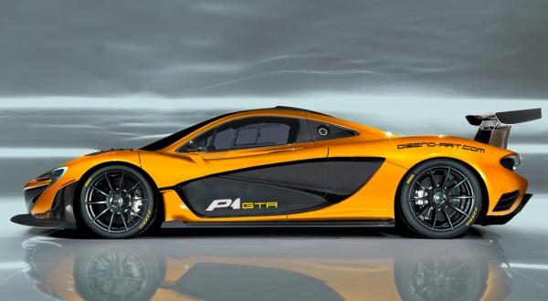 F: McLaren P1 GTR