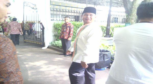 Prabowo Sowan Ke Istana Negara