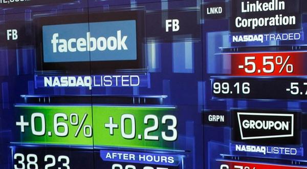 Ilustrasi perdagangan lewat Facebook. (Foto: Reuters)