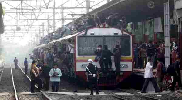 Ilustrasi Kereta Api. (Foto: Okezone)