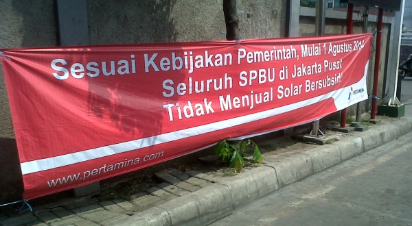 Hari ini SPBU di Jakarta Pusat tidak jual Solar. (Ilustrasi foto: Okezone)