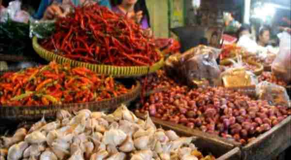 Ilustrasi pasar tradisional. (Foto: Okezone)