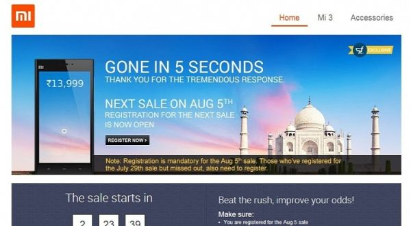 Xiaomi Mi3 Ingin Ulangi Kesuksesan di Pasar India