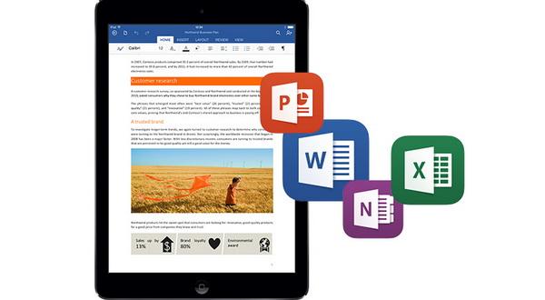 Microsoft Update Aplikasi Office untuk iPad