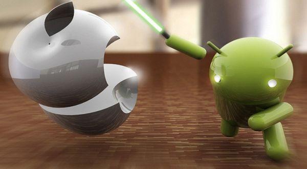 Android Menang Tipis dari iOS