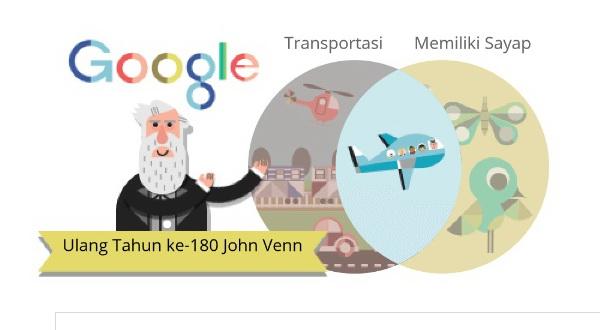Google Doodle Peringati Kelahiran Matematikawan Asal Inggris
