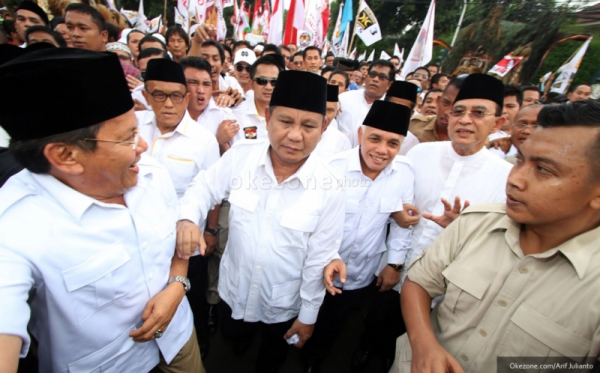 Prabowo-Hatta Siapkan 1.200 Saksi di Sidang Sengketa Pilpres