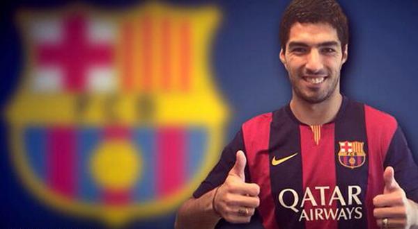 Luis Suarez. (Foto: FC BARCELONA)