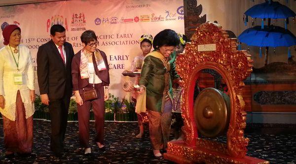 Konferensi PAUD Asia Pasifik ke-15 Resmi Dibuka di Bali