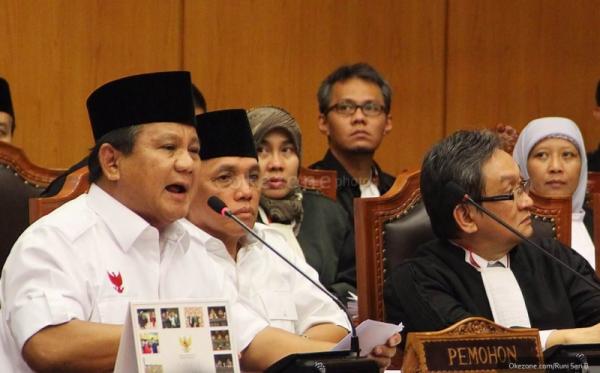 Sidang Gugatan Prabowo-Hatta Dilanjutkan Pekan Depan