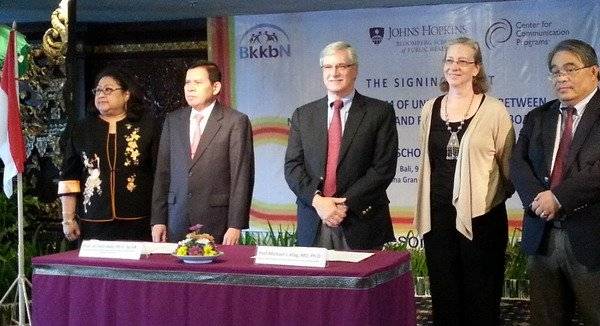 BKKBN-Universitas John Hopkins Kembangkan KB