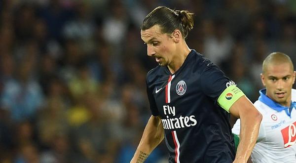 Zlatan Ibrahimovic, menyumbang satu gol ke gawang Napoli / ist