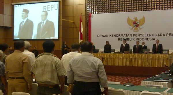 Sidang DKPP Ditutup, Hasilnya Tetap Diumumkan Berbarengan dengan MK