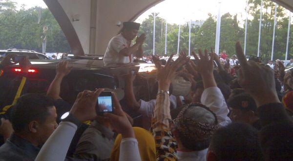 Prabowo: Terima Kasih Warga Jabar!