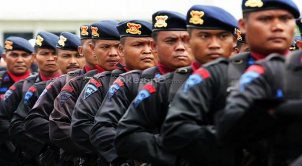 Polisi Gunakan Peluru Karet Jika Kondisi di Gedung MK Ricuh