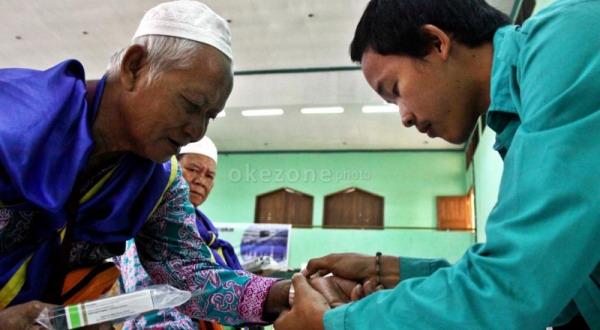 Jamaah Haji Cukup Suntik Meningitis