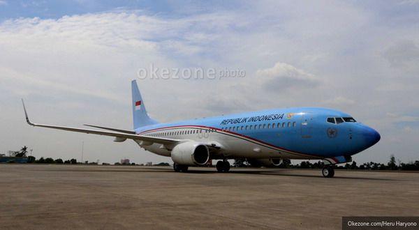 Gunakan Pesawat Kepresidenan, SBY Tiba di Biak
