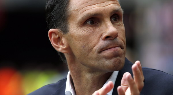 Gustavo Poyet - pelatih Sunderland (Foto: REUTERS/Andrew Yates)