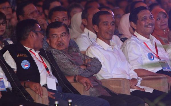 PDIP Bantah Keretakan Jokowi-JK