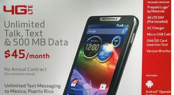 Motorola Luge, Smartphone KitKat Kamera 8MP