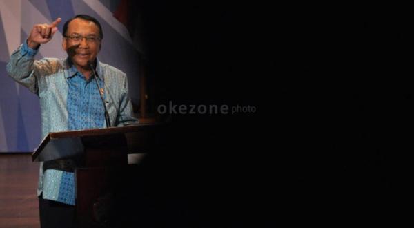 Didik Rachbini Tak Menyangka Jero Jadi Tersangka (Foto: Runi/Okezone)