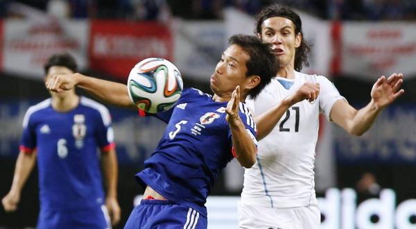 Timnas Jepang kalah 2-0 dari Uruguay (Foto: REUTERS)