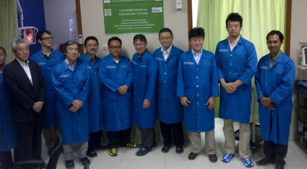 Jepang Bantu Indonesia Tingkatkan Kualitas Ahli Endoskopi
