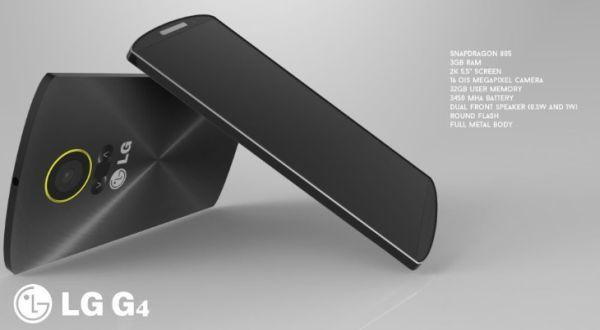 Inikah Desain LG G4 Terbaru?