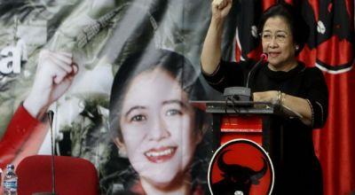 Susunan Menteri Adu Kuat Mega-Jokowi