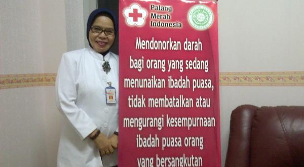 PMI Distribusikan 1000 Kantung Darah Perhari