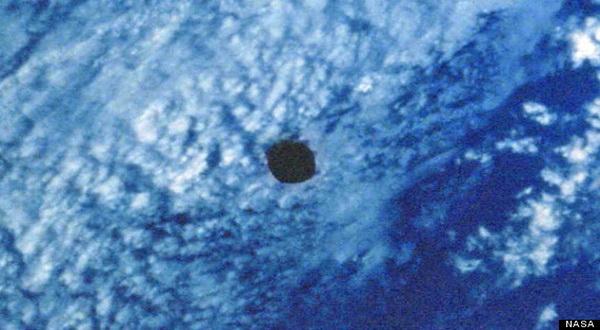 Penampakan UFO Tertangkap Kamera NASA