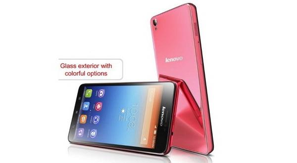 Eksterior Smartphone Lenovo S850 Berbahan Kaca